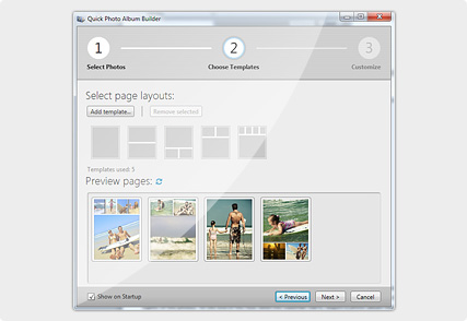 Photo Album Builder
